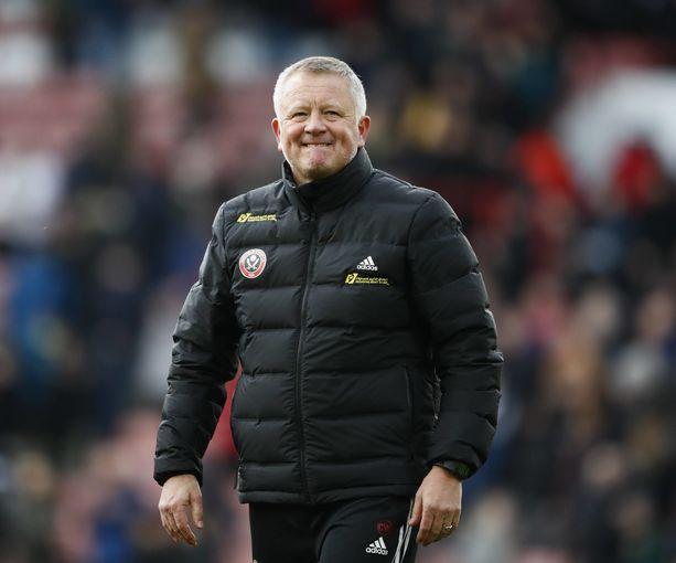 Chris Wilder on johdattanut Sheffield Unitedin lähelle europelipaikkoja.
