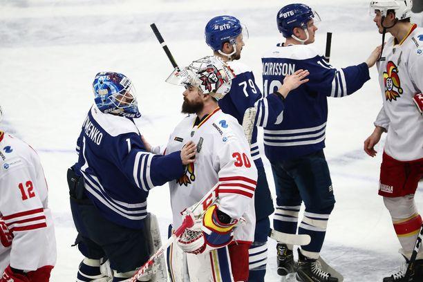 Moskovan Dynamo jyräsi torstaina jatkoon 6–2-voitolla.