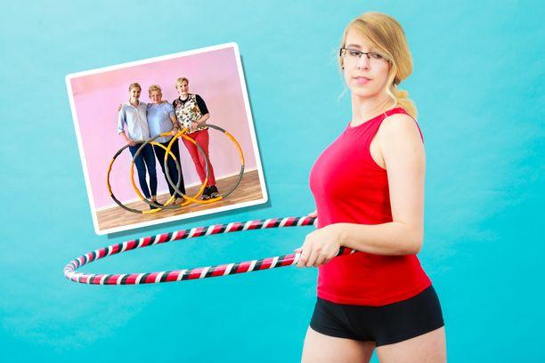 Tutkimuksessa hulavannetta pyörittäneiden keskivartalon rasvamäärä pieneni ja lihasmassa kasvoi merkittävästi.