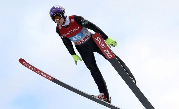 Ville Larinto onnistui Innsbruckin karsinnassa.