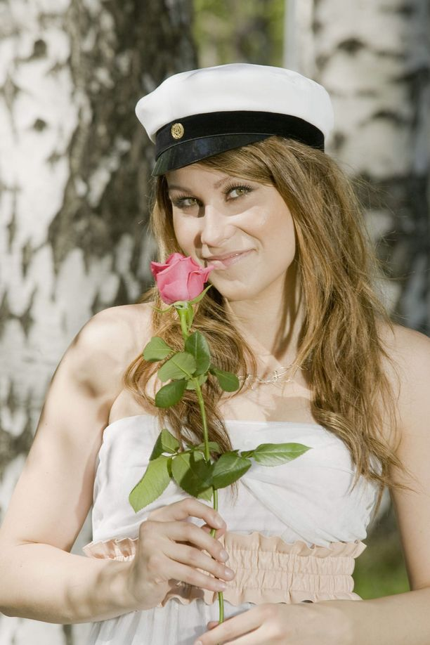 Kristiina Brask kirjoitti ylioppilaaksi keväällä 2010.