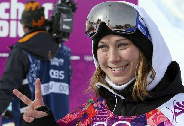 Enni Rukajärvi toi Suomelle olympiahopeaa Sotshista.