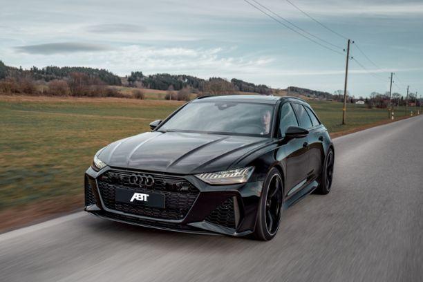 """Audi RS6 ei ole """"vakionakaan"""" mikään mopo, mutta tuunauspaja pisti vielä paremmaksi."""