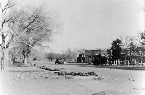 St. Thomas ennen Hooverin padon rakentamista.