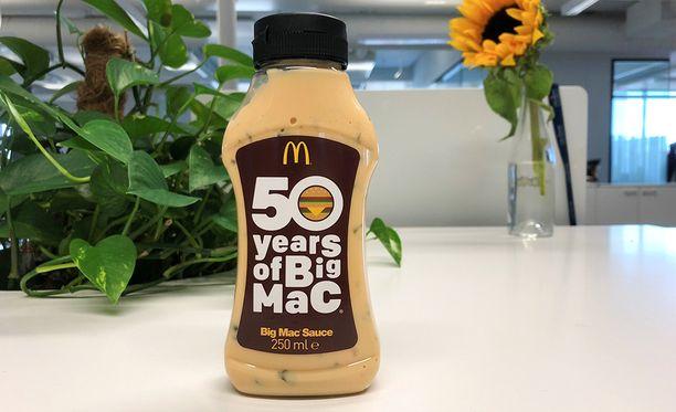 Big Mac -kastikkeen resepti on tarkoin varjeltu salaisuus.