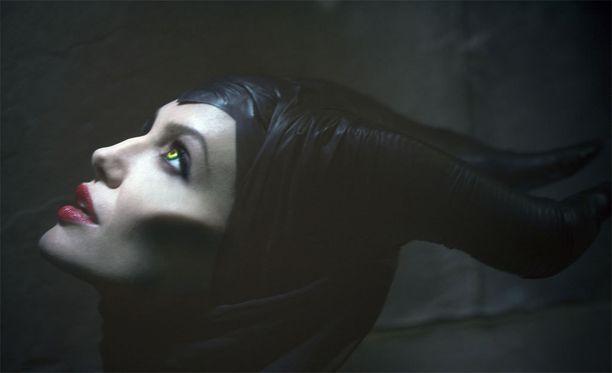 Angelina Jolie häikäisi Pahattaren roolissa vuonna 2014 ilmestyneessä elokuvassa.