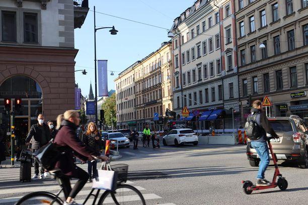 Kyseessä on ensimmäinen kerta, kun Ruotsissa ollaan todettu lambdamuunnosta.