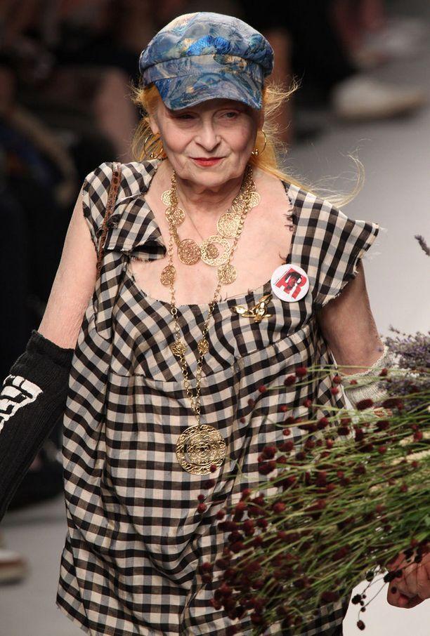 Suunnittelija Vivienne Westwood on kolmanneksi etsityin muotinimi Googlessa.