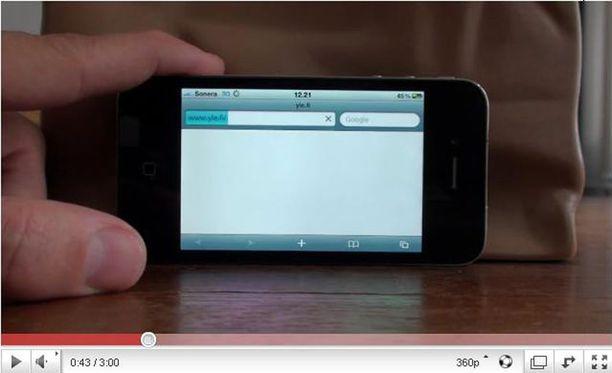 iPhone 4 menettää verkkonsa myös suomalaisen operaattorin verkossa