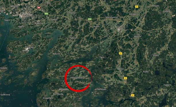 Motoristi kuoli Kemiönsaarella tapahtuneessa onnettomuudessa.