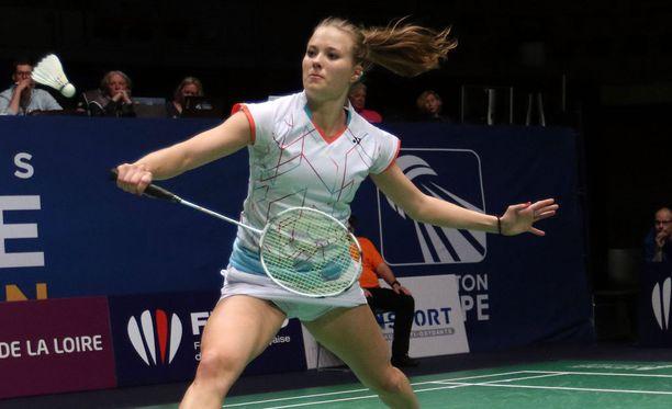 Nanna Vainio hävisi Rion olympialaisten ensimmäisen ottelunsa.