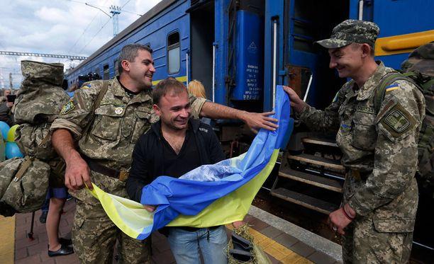 Ukraina syyttää Venäjää Itä-Ukrainan kriisistä, joka on jatkunut vuodesta 2014 lähtien.