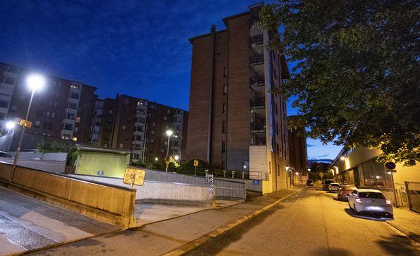 Turun ammuskelu tapahtui Ketarantiellä sijaitsevassa kerrostalossa.