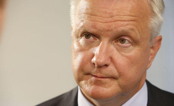 Elinkeinoministeri Olli Rehn on tyytyväinen siitä, että työmarkkinasopu on nyt lähempänä.