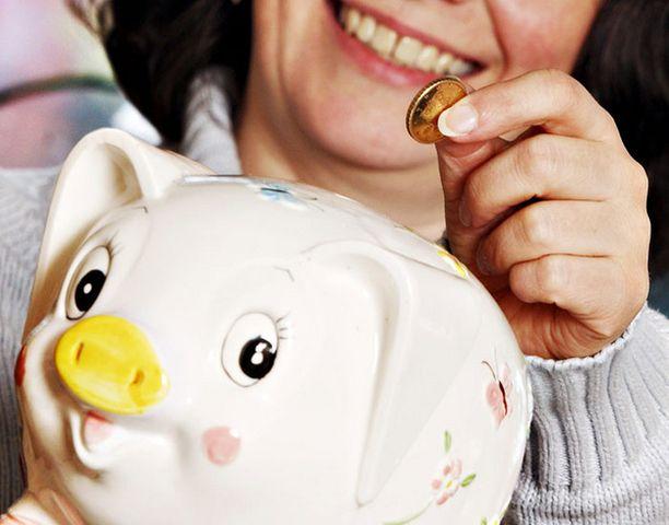 Keskivertotalous laittaa sivuun 200 euroa kuukaudessa.