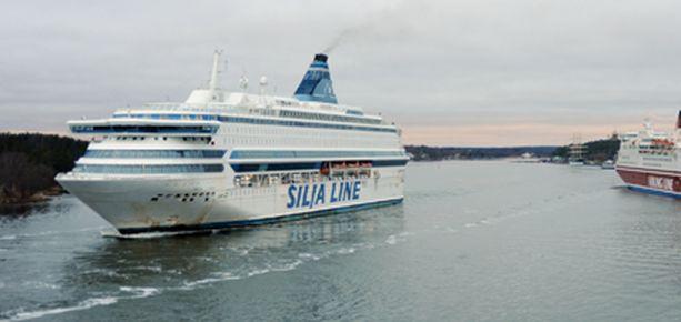 Silja Europalla matkustanut mies katosi aaltoihin torstaina Ahvenanmaalla.