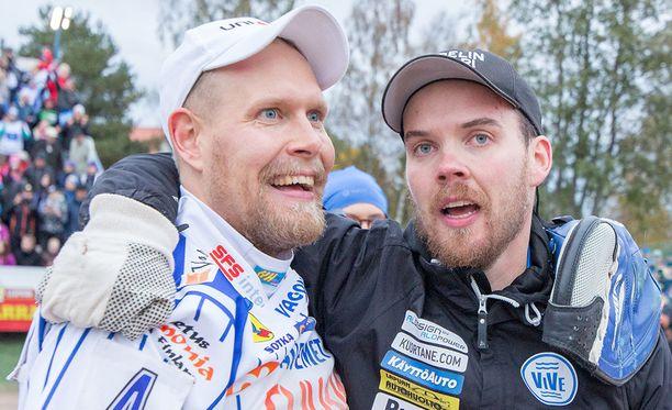 Virheetöntä työtä mailan varressa tehnyt Henri Puputti (10/10 kärkilyöntiä) oli taas kerran pelinjohtaja Sami-Petteri Kivimäen luottomies.
