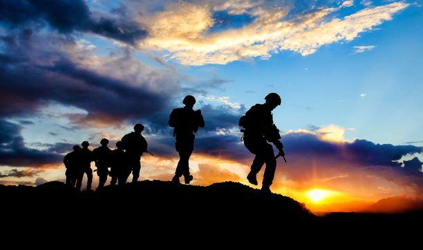 Australian sotilaita Afganistanissa. Kuvituskuva.