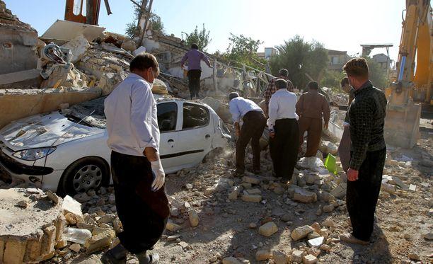 Viime kuussa tapahtui maanjäristys Iranin ja Irakin rajalla. Pääosa uhreista oli Iranin puolella.