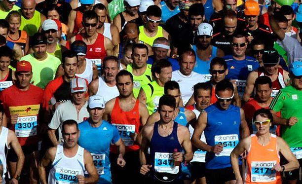Tabatha Hamiltonin huijausyritys maratonilla ei ollut ihan välkyimmästä päästä. Kuvituskuva.