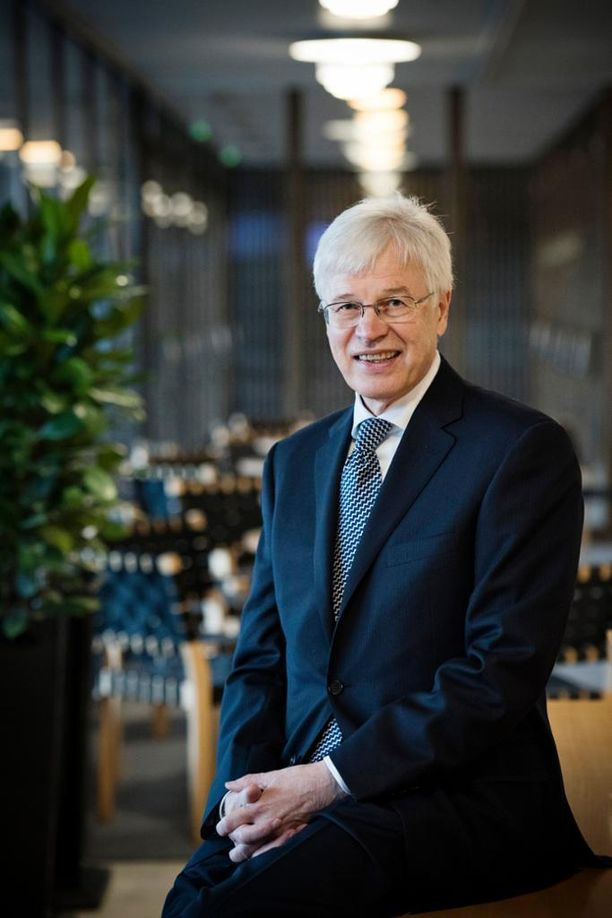 Nobel-voittaja Bengt Holmström vieraili Suomessa keskiviikkona.