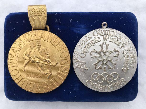 Ne on siinä! Timo Blomqvistin alle 18-vuotiaiden EM-kulta 1978 ja olympiahopea 1988.