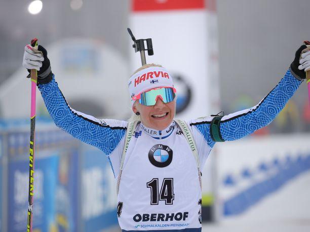 Kaisa Mäkäräinen on yksi Suomen kaikkien aikojen parhaista talvilajien urheilijoista.