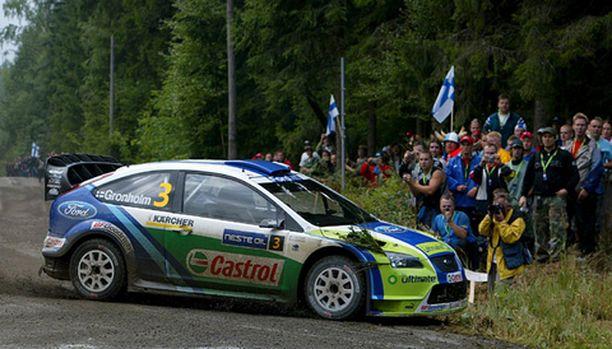 Marcus Grönholmin johto Jyväskylässä kasvoi.