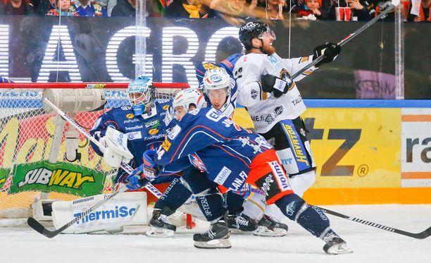 Lukas Kaspar ei pelkää Tapparaa.