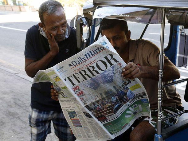 Pääsiäissunnuntaina Sri Lankalla kuoli satoja ihmisiä järjestelmällisissä pommi-iskuissa.