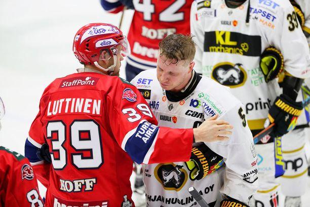 Viime keväänä HIFK pudotti Kärpät. Tänä vuonna asetelma kääntyi päälaelleen.