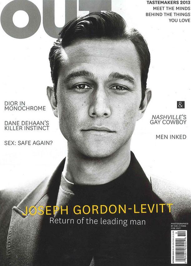 Gordon-Levitt joutui ristikuulusteluun Out-lehden tuoreesta kansikuvasta.
