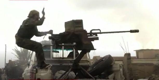 Koalition joukot piirittävät Baghuzia. Isisin viimeiset hetket ovat lähellä.