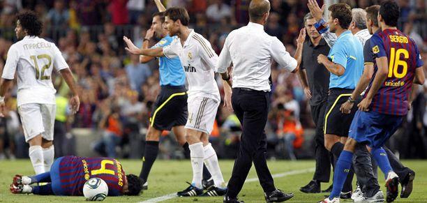 Barcelona voitti kuuman Super Cupin.