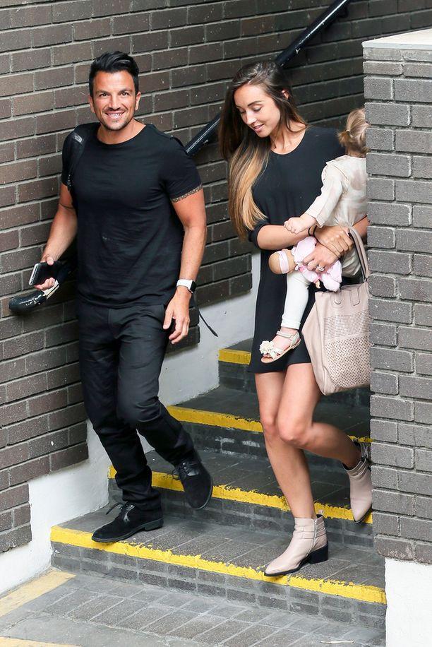 Peterin ja nykyisen vaimon Emilyn tytär täyttää tammikuussa kaksi vuotta.