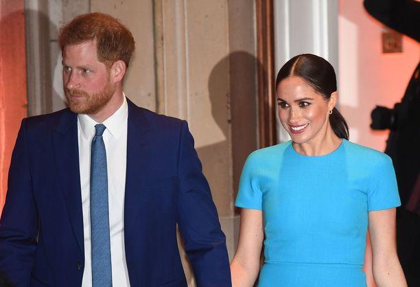 Prinssi Harry ja herttuatar Meghan ilmoittivat irtautuvansa hovista tammikuussa.