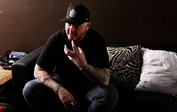 """Björn """"Speed"""" Strid on aloittanut metallimusiikin laulamisen 16-vuotiaana."""