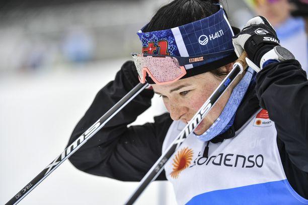 Krista Pärmäkoski hiihtää Seefeldissä kolme kisaa neljään päivään.