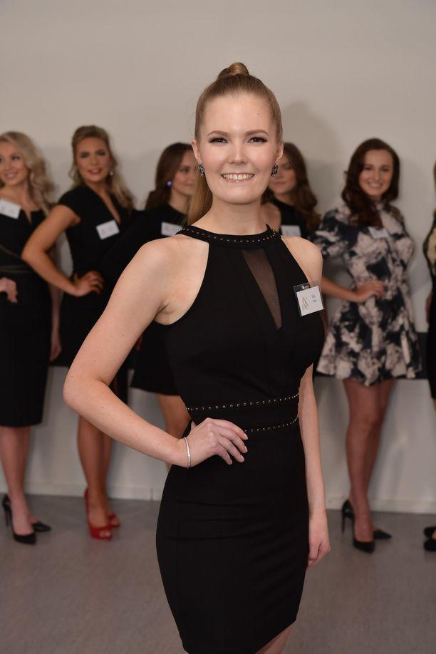 Helsinkiläinen Ella Virto laihdutti Miss Suomi -kilpailuja varten 10 kiloa vain kolmessa kuukaudessa.