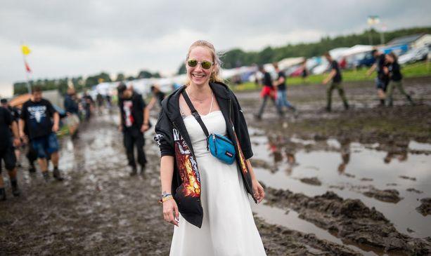 Wacken Open Air kerää yli 75 000 musiikinkuuntelijaa ympäri maailmaa. Sade ja muta ovat osa ainutlaatuista festarikokemusta.