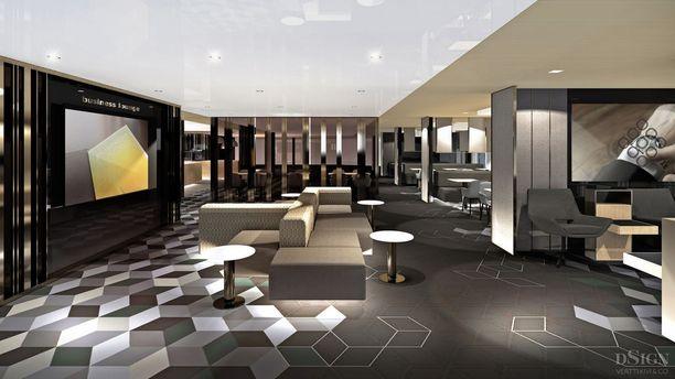 Megastarin Comfort Lounge.