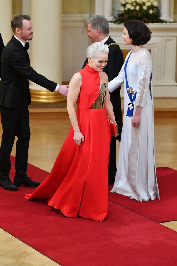 Anna Puun tyyli siivitti äänestyksen kolmanneksi.