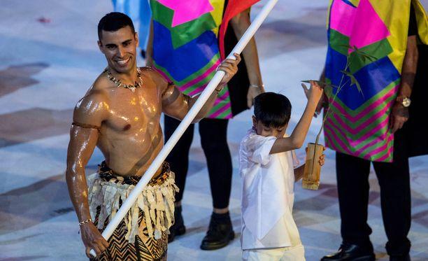 Tästä näystä keskusteltiin sosiaalisessa mediassa runsaasti vuonna 2016 Rion olympialaisten avajaisten jälkeen.