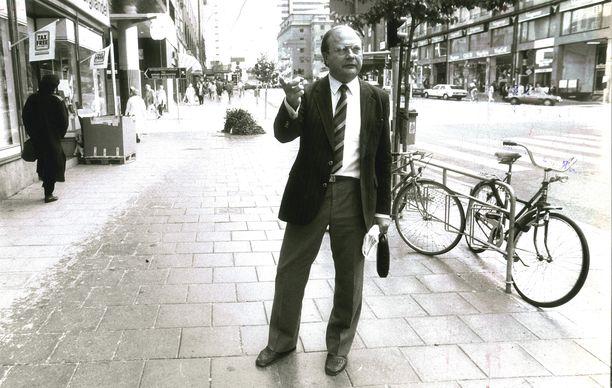 Stig Engström antoi mielellään haastatteluja ja halusi esiintyä sankarina Palmen murhan jälkeen.