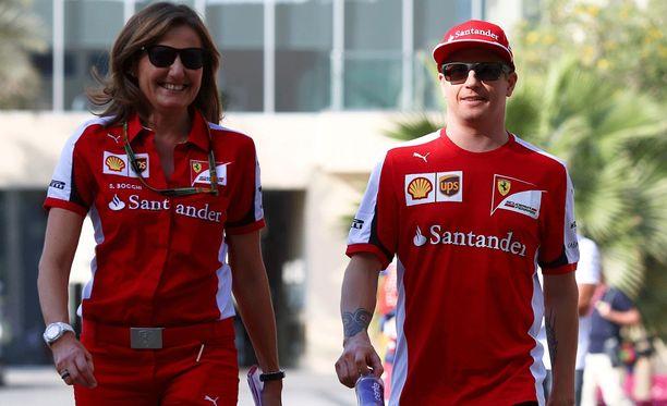 Kimi Räikkösen GP-viikonloppu käynnistyi hyvin.