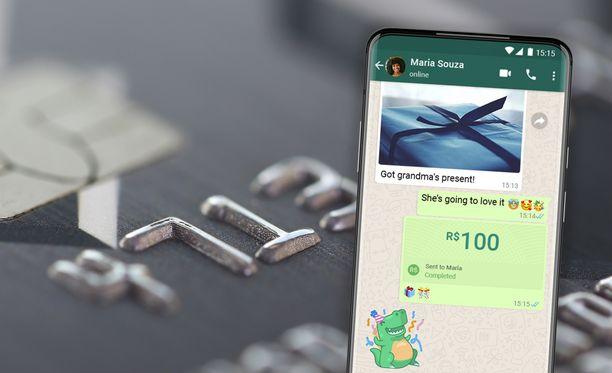 Whatsapp-maksut on otettu käyttöön Brasiliassa.