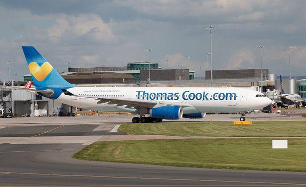 Thomas Cook Airlines Scandinavian kaikki maanantain lähtevät lennot perutaan.