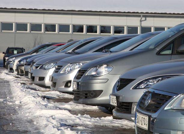 Hylkäystilastoissa ei erotella autoja korimallin perusteella.