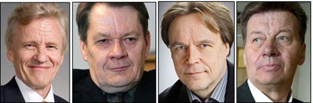 Muun muassa Pietari Jääskeläinen, Risto Kuisma, Timo Juurikkala ja Mauri Salo nousivat pätkäkaudelle.