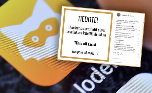 Jodel haluaa kuopata suomalaisen Instagram-tilin.
